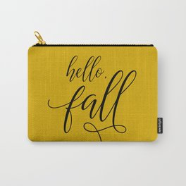 hello, fall Carry-All Pouch