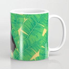 Toucan and banana leaves Coffee Mug