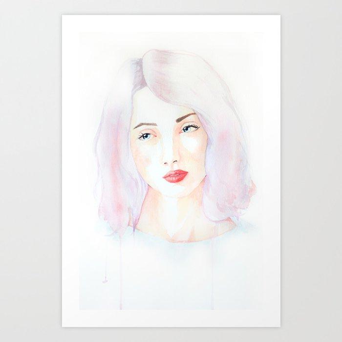 Bereavement Art Print