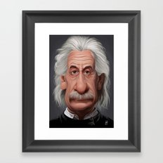 Celebrity Sunday ~ Albert Einstein Framed Art Print