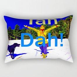 Tah Dah! Rectangular Pillow
