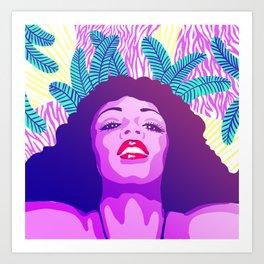 Divas - Donna Summer Art Print