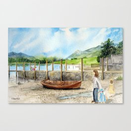 Day Out at Derwent Water Canvas Print