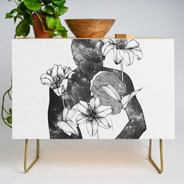 You are my flowery drug. Credenza