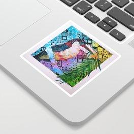 The Origin of the Aracari ( Toucan Bird Whisperer Project ) Sticker