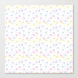 pastel hats Canvas Print
