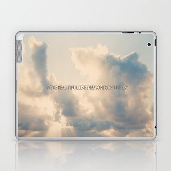 We're beautiful like diamonds in the sky Laptop & iPad Skin