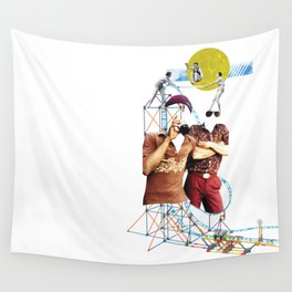 Roller Coaster Wall Tapestry