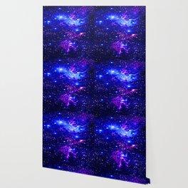 Fox Fur Nebula Galaxy blue purple Wallpaper