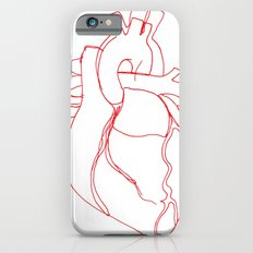 Anatomical heart iPhone 6s Slim Case