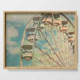 Ferris wheel 1 Serving Tray