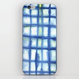 Plaid Watercolor iPhone Skin