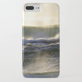 Sun Kissed Waves iPhone Case