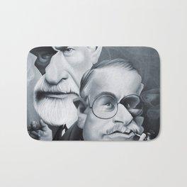 Sigmund Freud and Carl Jung Bath Mat