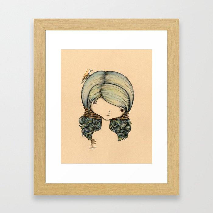 Anne n Belle Framed Art Print