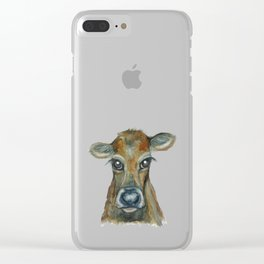 Little Calf Clear iPhone Case