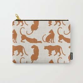 Leopard Block Party Carry-All Pouch