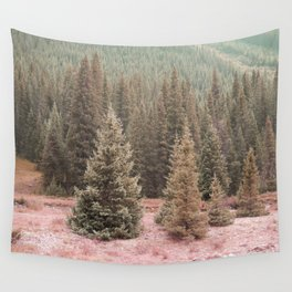 Look For Me In The Trees Wall Tapestry