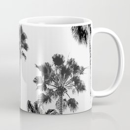 Black & White Palms 3 Coffee Mug