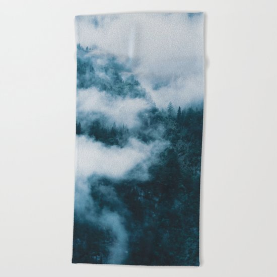 Embracing serenity - Landscape Photography Beach Towel