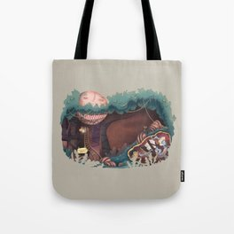 Insecurity forest Tote Bag