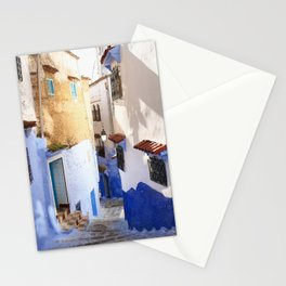 Lost in Blue Stationery Cards