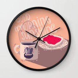 morning Wall Clock