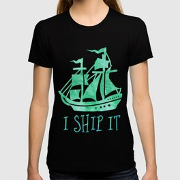 I Ship It - Watercolour T-shirt