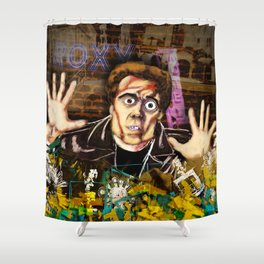 Hands up! Shower Curtain