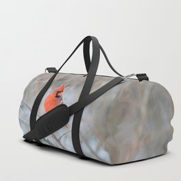 Hanging On (Northern Cardinal) Duffle Bag