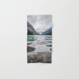 Lake Louise | Alberta Landscape Photography Hand & Bath Towel