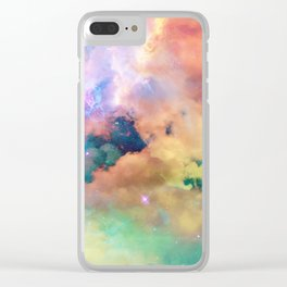 Star Child Clear iPhone Case
