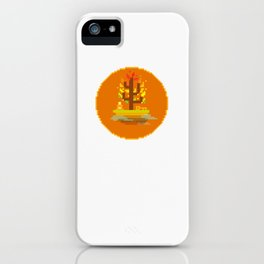 Fall Buddha iPhone Case