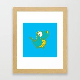cutie monster_02 Framed Art Print