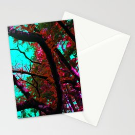 Psychedelic Forrest Stationery Cards