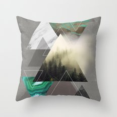 Triangles Symphony Throw Pillow