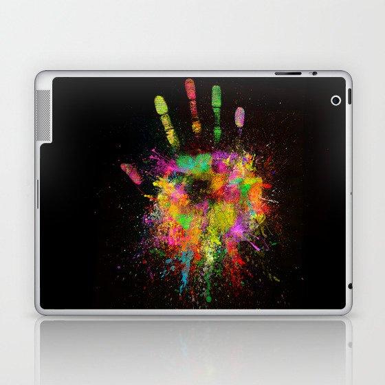 Artist Hand (1) Laptop & iPad Skin