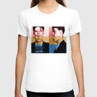 frank sinatra T-shirts featuring Classic Frank Sinatra  by Brandon Minieri