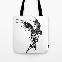 freedom Tote Bags featuring Freedom by KUI29