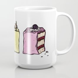 P is for Petit Four Coffee Mug
