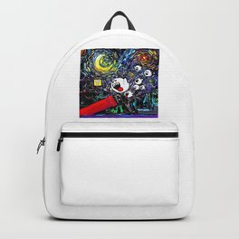 Ghost Attack Painting Backpack