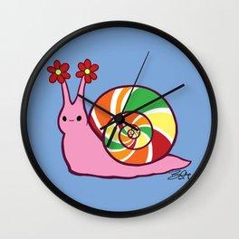 Sweetie Candie Snail Wall Clock