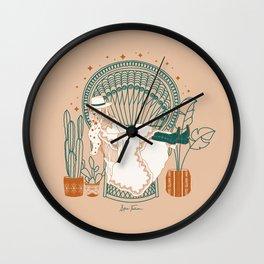 Texas Bohemia Wall Clock