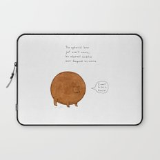 the spherical bear Laptop Sleeve