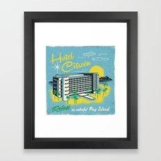 HOTEL CITROEN Framed Art Print