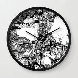 Landfill Pt. 1 Wall Clock