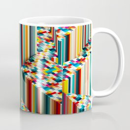 Stretched Pattern Coffee Mug