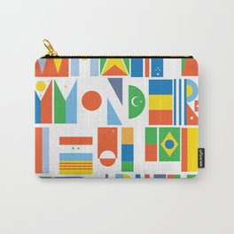 What A Wonderful World II Carry-All Pouch
