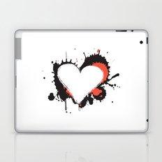 I Heart Live Art Laptop & iPad Skin