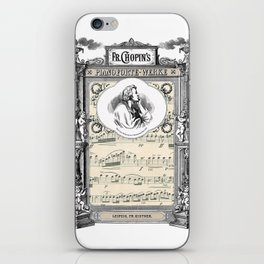 Frederick Chopin Polonaise art iPhone Skin